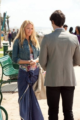 Photo Blake Lively, Ethan Peck