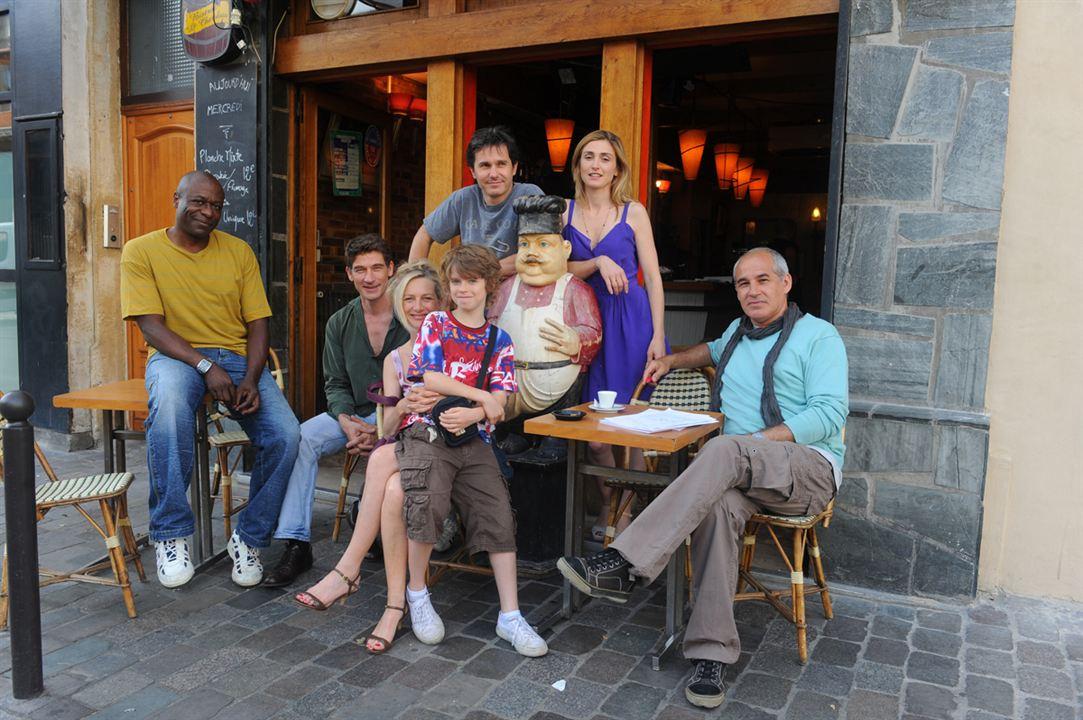 Manège : Photo Anne Loiret, Bruno Henry, Bruno Slagmulder, Jérôme Anger, Julie Gayet