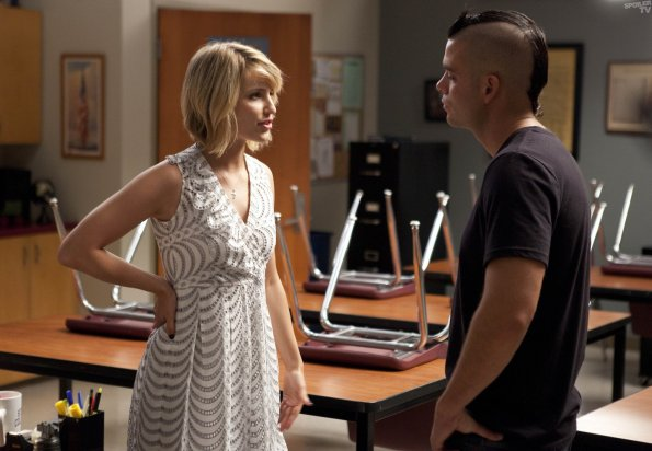 Photo Dianna Agron, Mark Salling