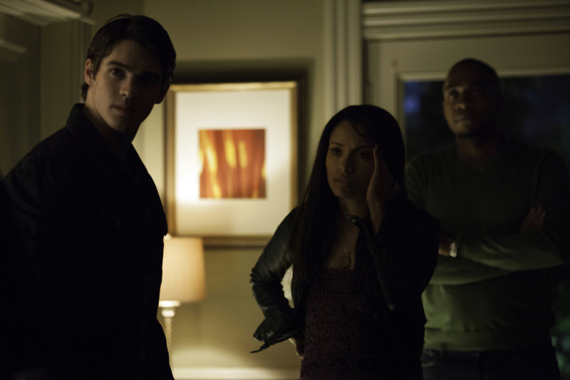 Photo Kat Graham, Rick Worthy, Steven R. Mcqueen