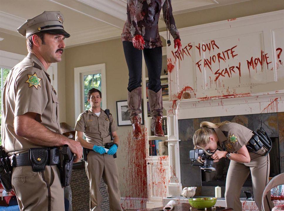 Scream 4 : Photo Adam Brody, David Arquette, Marley Shelton, Wes Craven