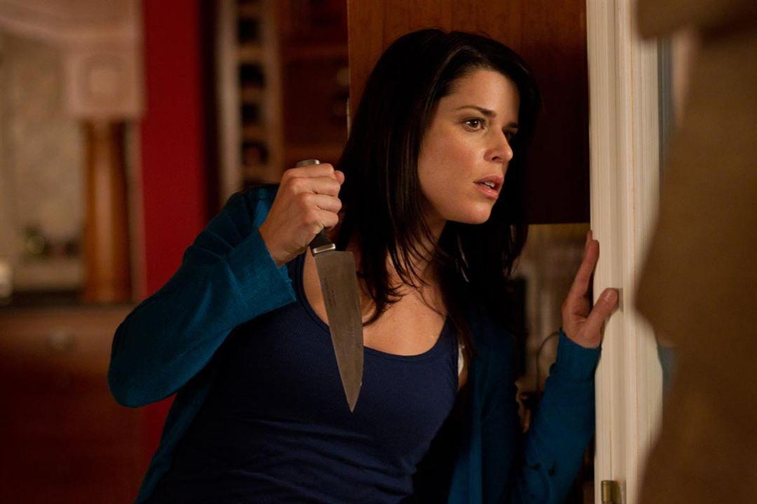 Scream 4 : Photo Neve Campbell, Wes Craven