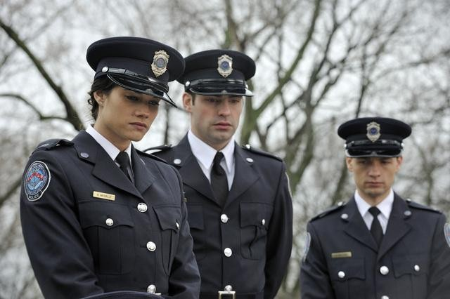 Photo Gregory Smith, Missy Peregrym, Travis Milne