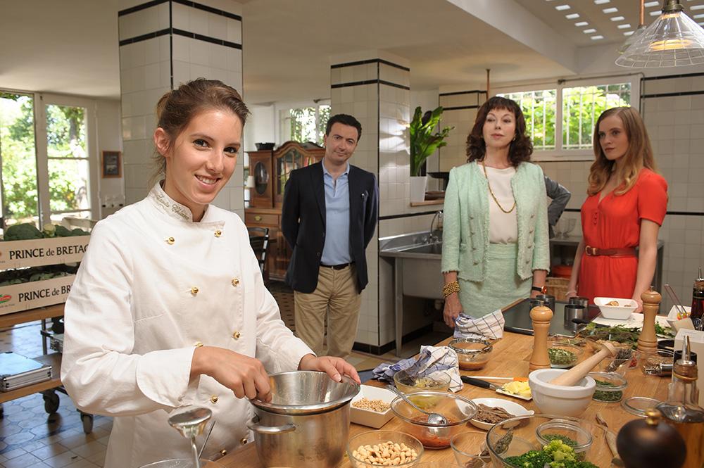 Photo Gala Besson, Gérald Dahan, Julie Arnold, Léa François