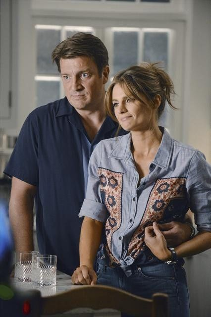 Photo Nathan Fillion, Stana Katic