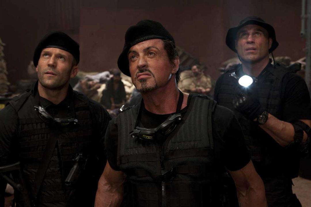 Expendables : unité spéciale : Photo Jason Statham, Randy Couture, Sylvester Stallone