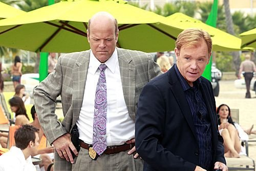 Photo David Caruso, Rex Linn