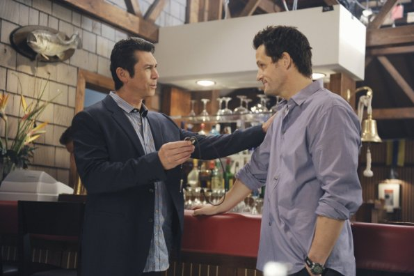 Photo Josh Hopkins, Lou Diamond Phillips
