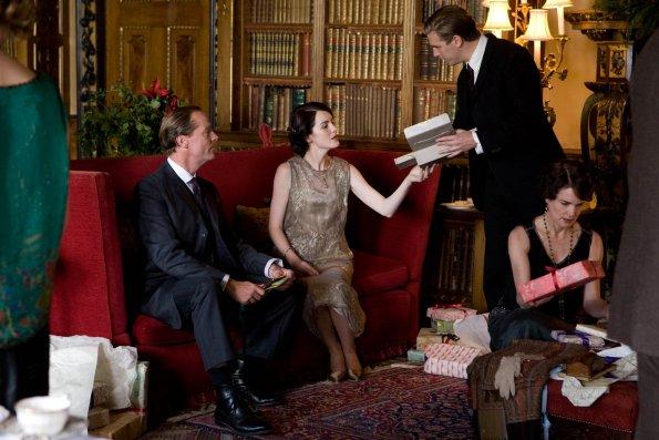 Photo Dan Stevens, Elizabeth McGovern, Iain Glen, Michelle Dockery