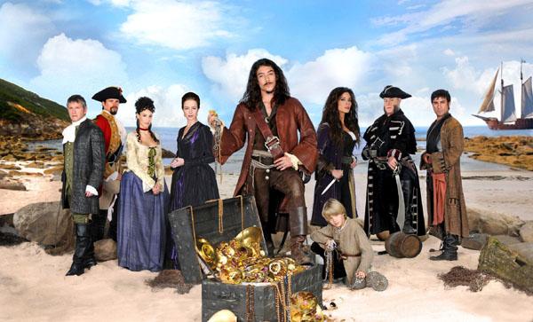 Piratas : Photo Aitor Mazo, Axel Fernández, Babou Cham, Luis Iglesia, Luisa Merelas