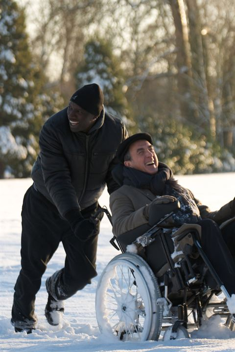 Intouchables : Photo François Cluzet, Omar Sy