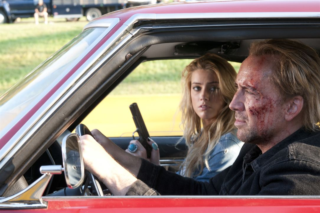 Hell Driver : Photo Amber Heard, Nicolas Cage, Patrick Lussier