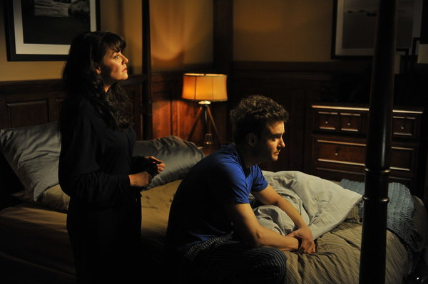 Photo Amanda Tapping, Robin Dunne