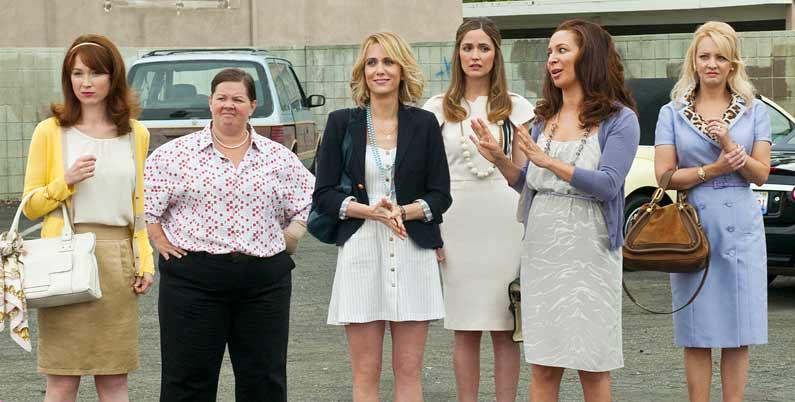 Mes meilleures amies : Photo Ellie Kemper, Kristen Wiig, Maya Rudolph, Melissa McCarthy, Rose Byrne