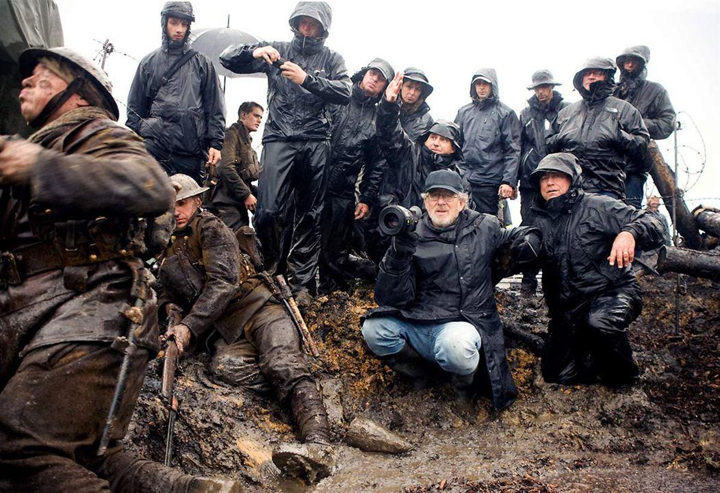 Cheval de guerre : Photo Steven Spielberg