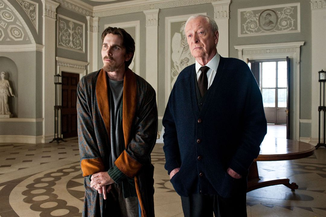 The Dark Knight Rises : Photo Christian Bale, Michael Caine