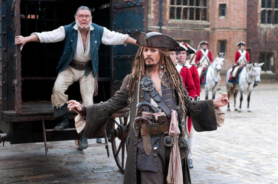 Pirates des Caraïbes : la Fontaine de Jouvence : Photo Johnny Depp, Kevin McNally