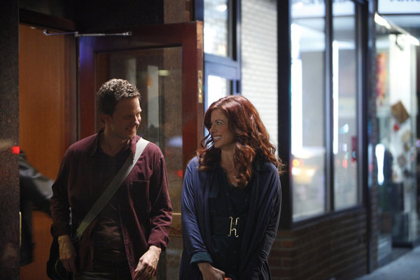 Photo Debra Messing, Will Chase