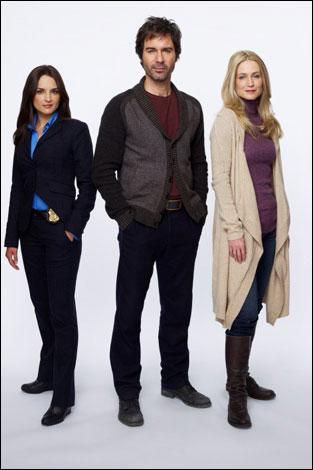 Photo Eric McCormack, Kelly Rowan, Rachael Leigh Cook