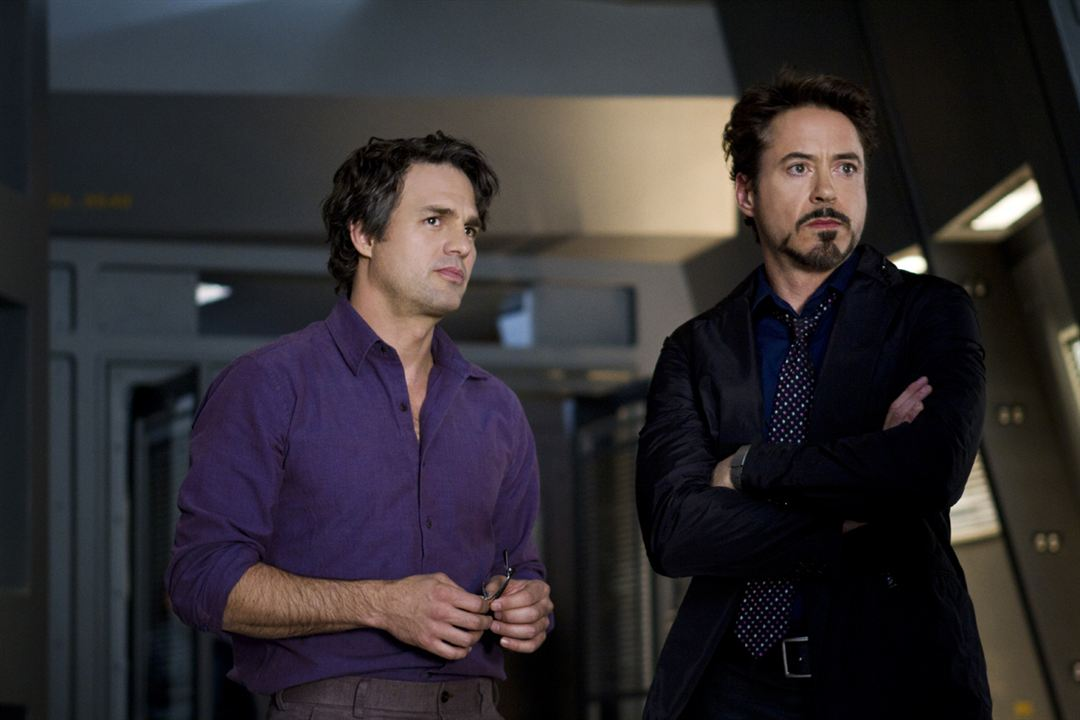 Avengers : Photo Mark Ruffalo, Robert Downey Jr.