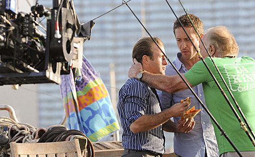 Photo Alex O'Loughlin, James Caan, Scott Caan