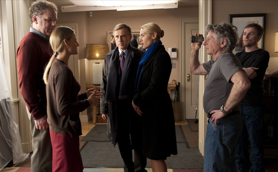 Carnage : Photo Christoph Waltz, Jodie Foster, John C. Reilly, Kate Winslet, Roman Polanski