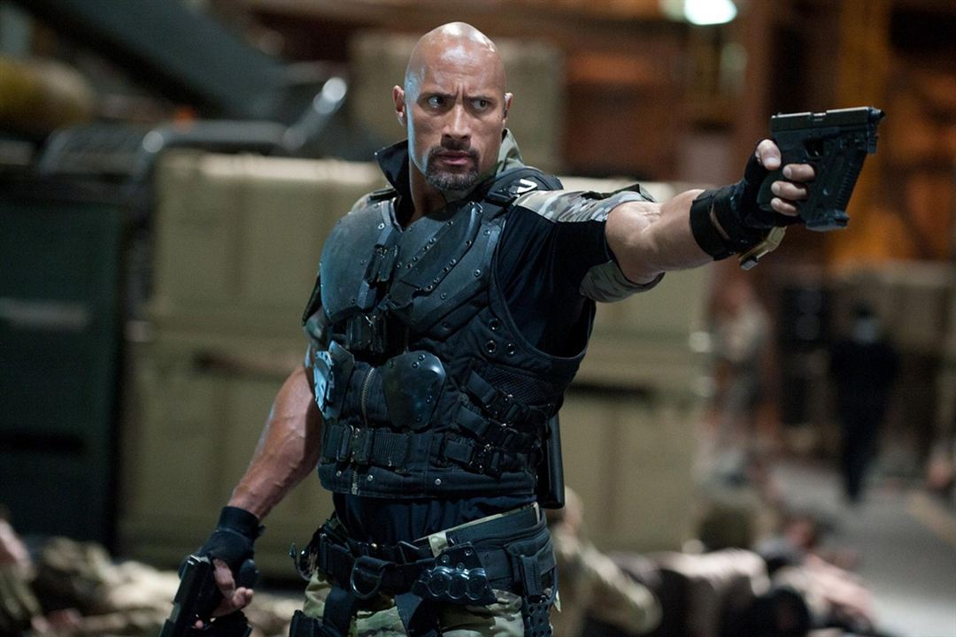 G.I. Joe : Conspiration : Photo Dwayne Johnson