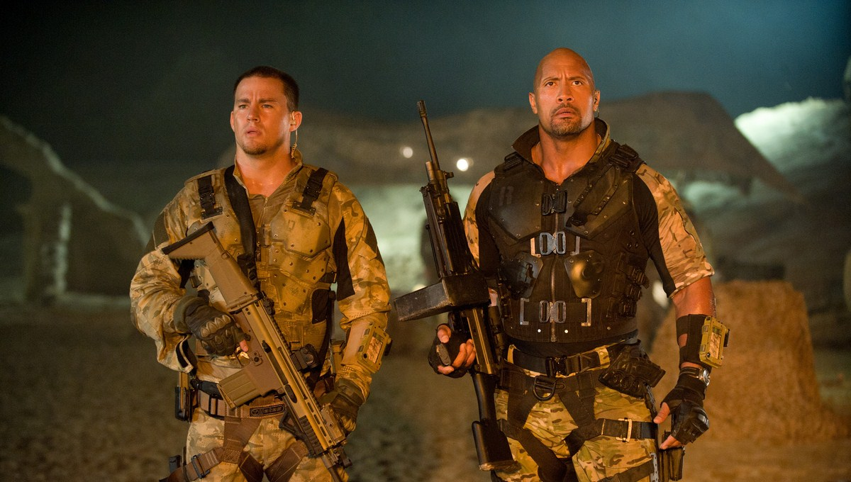 G.I. Joe : Conspiration : Photo Channing Tatum, Dwayne Johnson