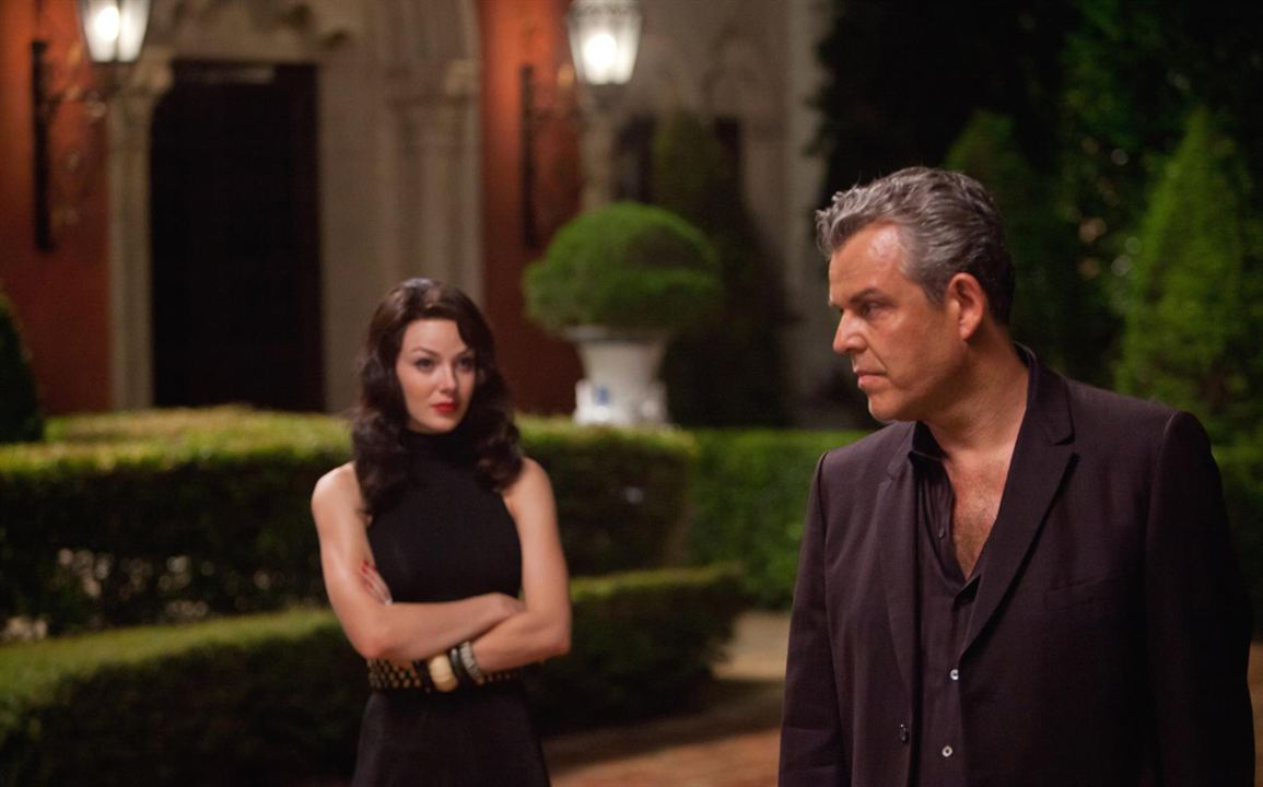 Photo Danny Huston, Jessica Marais