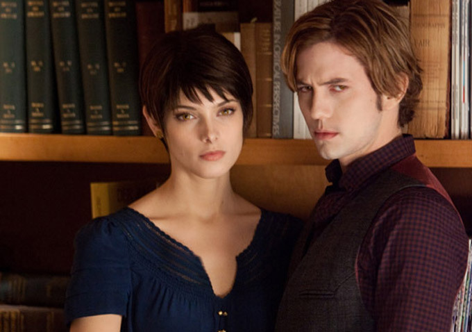 Twilight - Chapitre 5 : Révélation 2e partie : Photo Ashley Greene, Jackson Rathbone