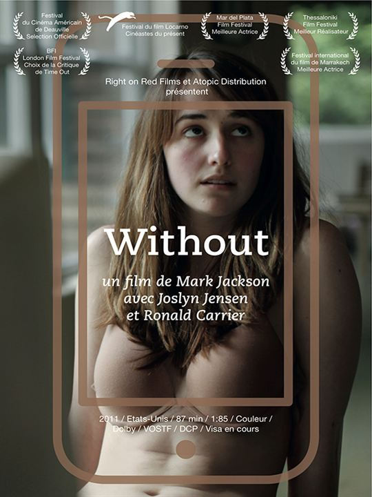Without : affiche