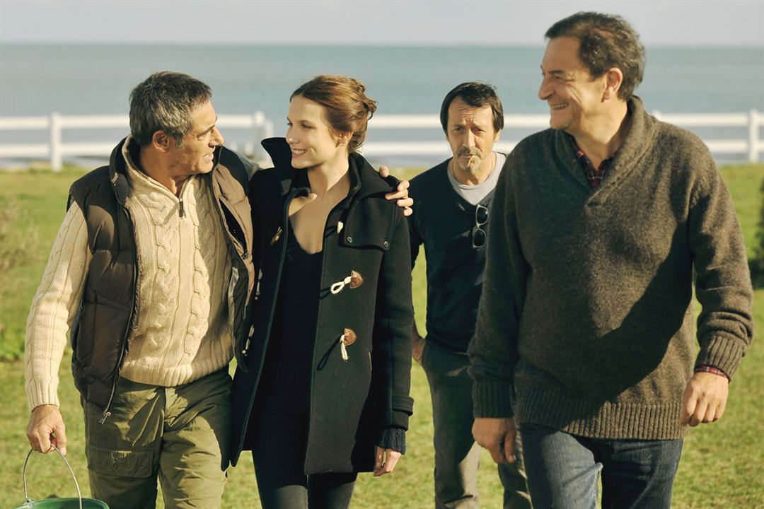 Amitiés sincères : Photo Ana Girardot, François Prévôt-Leygonie, Gérard Lanvin, Jean-Hugues Anglade, Stephan Archinard