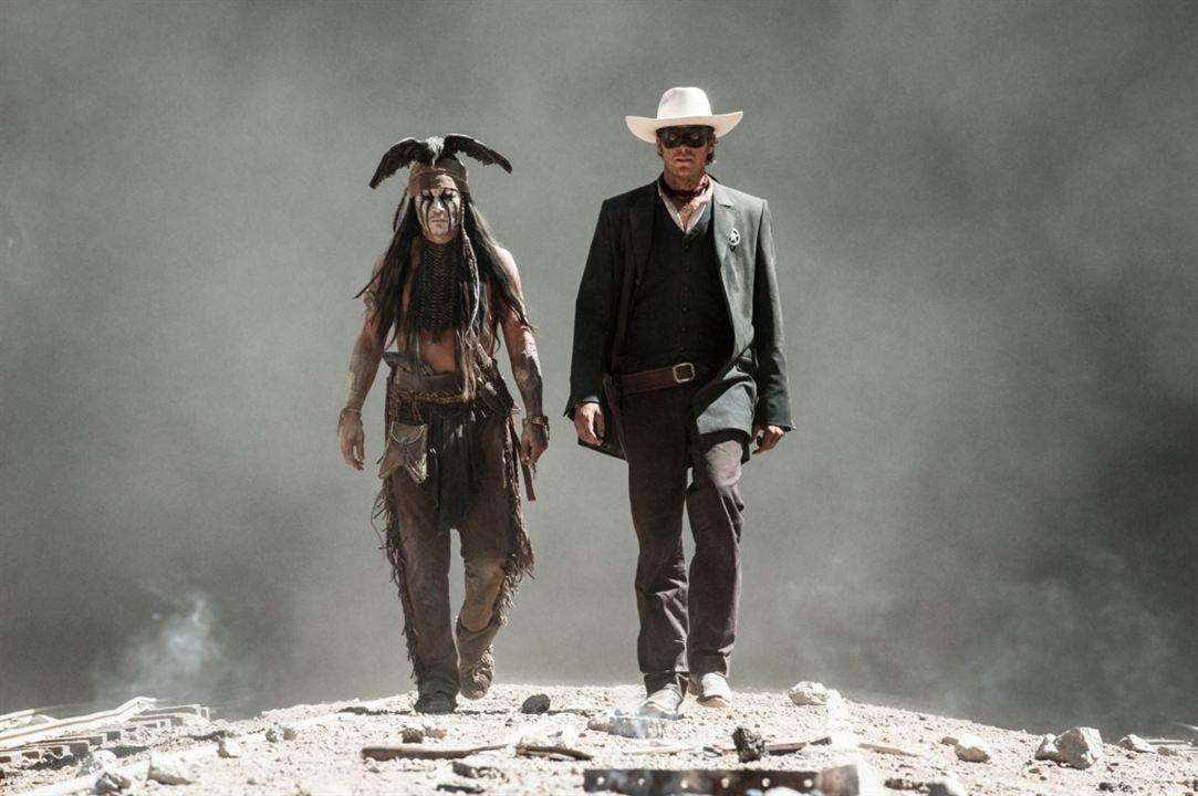 Lone Ranger, Naissance d'un héros : Photo Armie Hammer, Johnny Depp