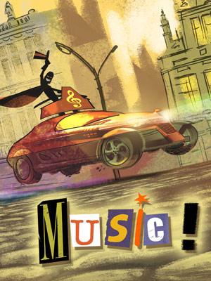 Affichette (film) - FILM - Music ! : 204517