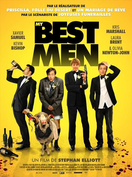 My Best Men : affiche