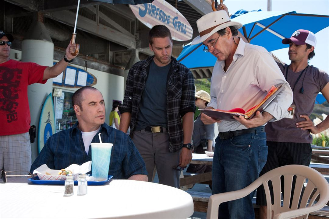Savages : Photo John Travolta, Oliver Stone, Taylor Kitsch