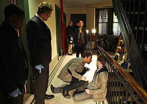 Photo Aidan Quinn, John Michael Hill, Jonny Lee Miller, Lucy Liu