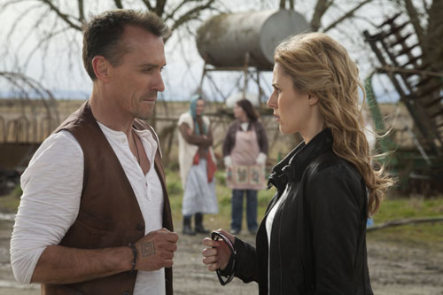 Photo Alona Tal, Robert Knepper