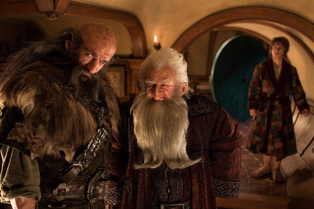 Le Hobbit : un voyage inattendu : Photo Graham McTavish, Ken Stott, Martin Freeman
