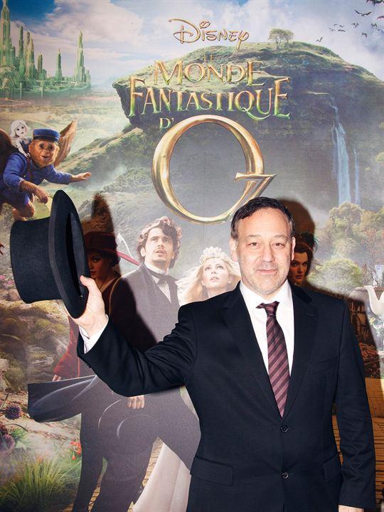 Le Monde fantastique d'Oz : Photo promotionnelle Sam Raimi