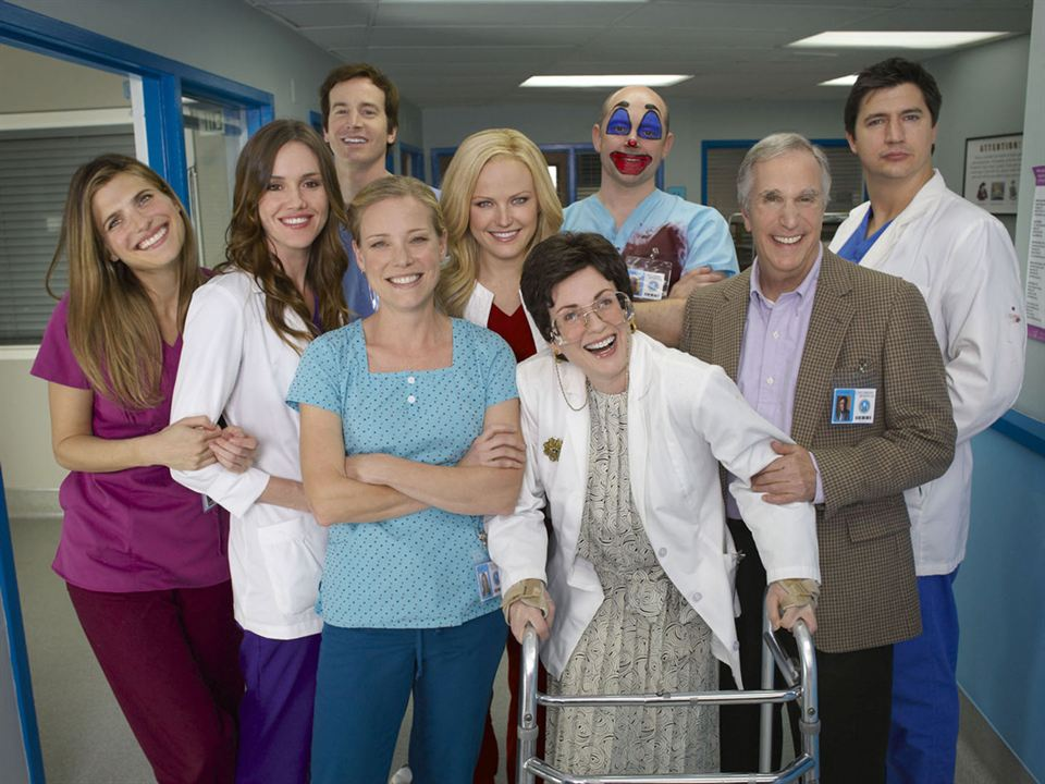 Childrens Hospital : Photo Erinn Hayes, Henry Winkler, Ken Marino, Lake Bell, Malin Åkerman