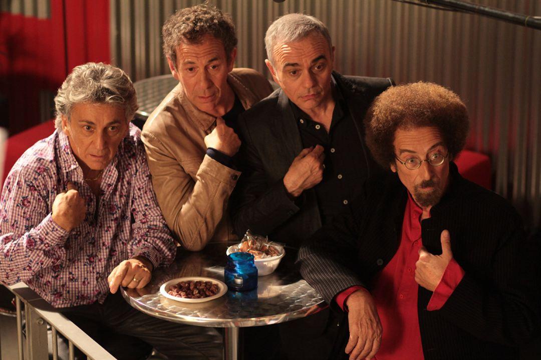 Stars 80 : Photo François Feldman, Jean Schultheis, Jean-Pierre Mader, Peter & Sloane