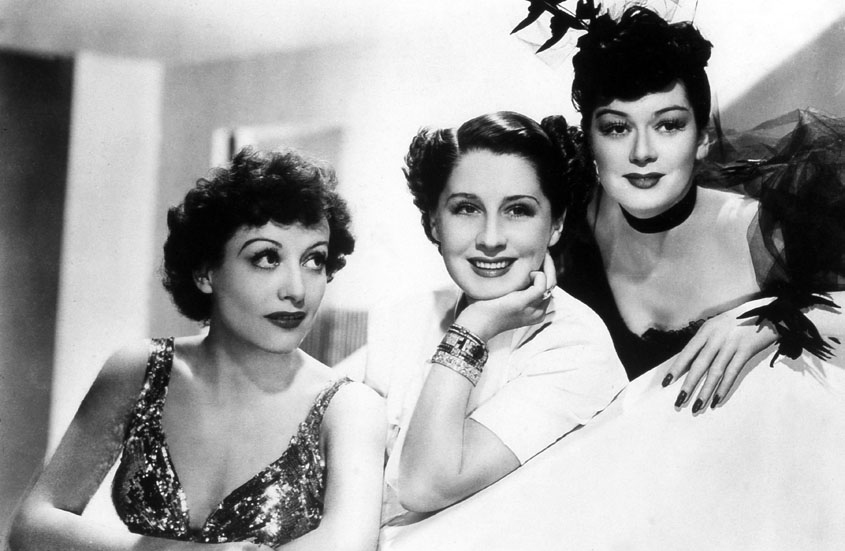 Femmes : Photo Joan Crawford, Norma Shearer, Rosalind Russell