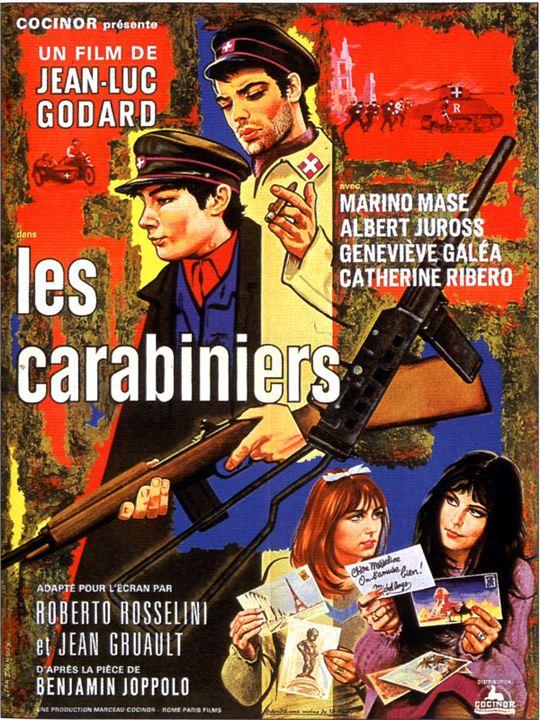 Les Carabiniers : Affiche