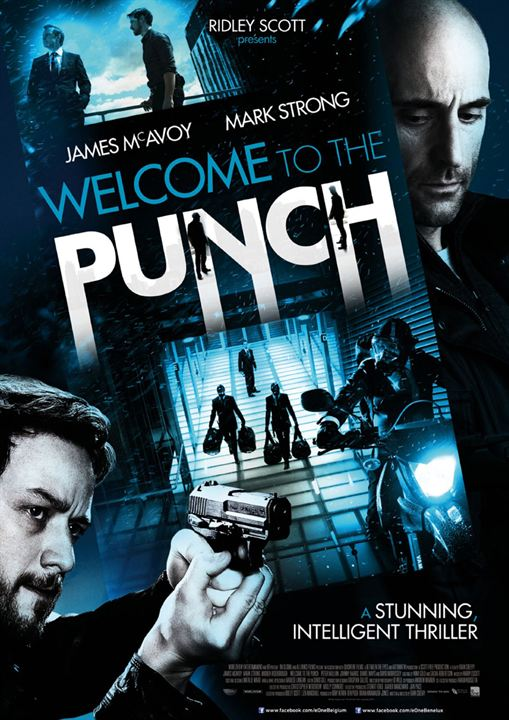 Welcome to the Punch : Affiche