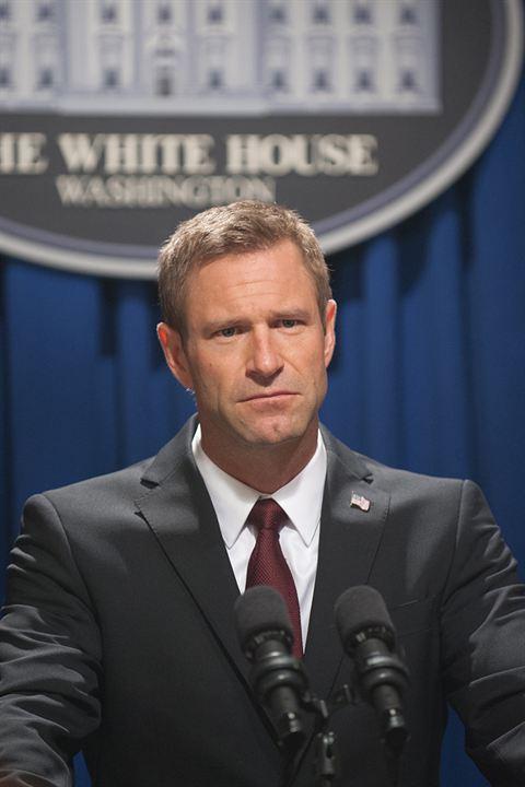 La Chute de la Maison Blanche : Photo Aaron Eckhart