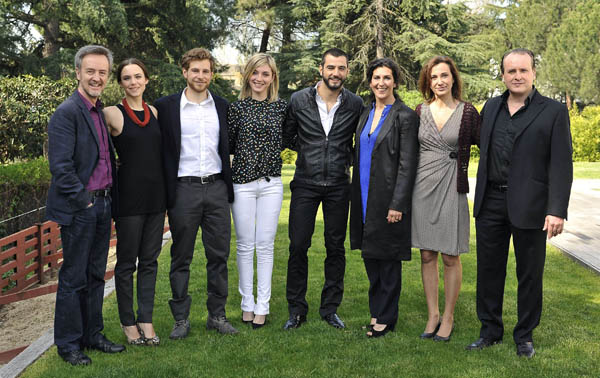 Photo Álvaro Cervantes, Antonio Velázquez, Aura Garrido, Carlos Hipolito, Elvira Minguez