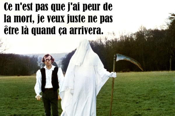 20 Citations Cultes De Woody Allen La Mort Allociné
