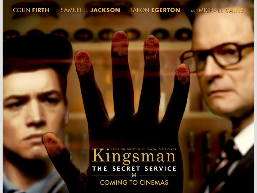 Kingsman poster by Andres Cisneros