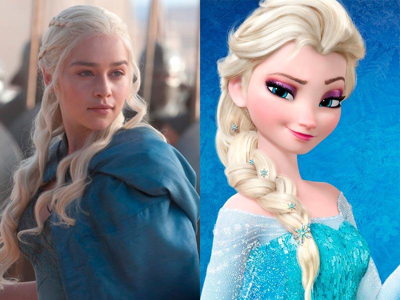 Daenerys Targaryen est Elsa